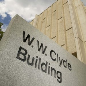 W.W. Clyde Building on BYU campus