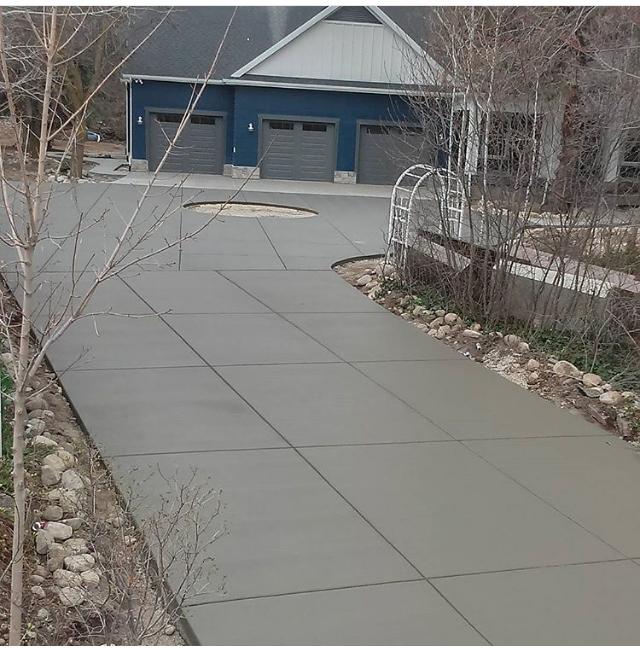 Utah Concrete for Driveway