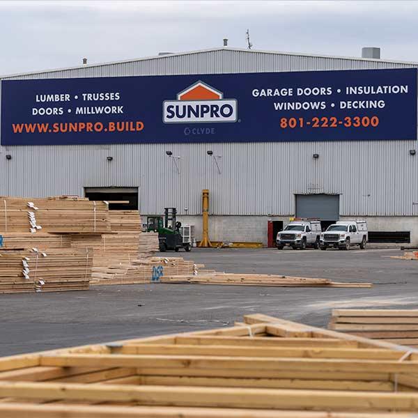Sunpro Lindon Truss Factory