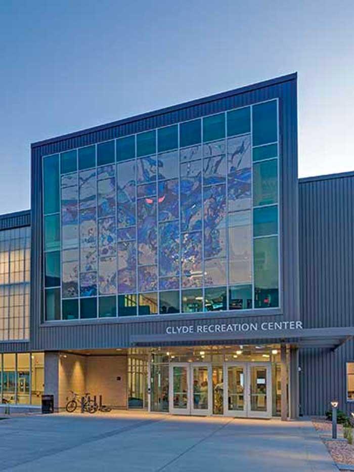 Clyde Recreation Center in Springville, UT