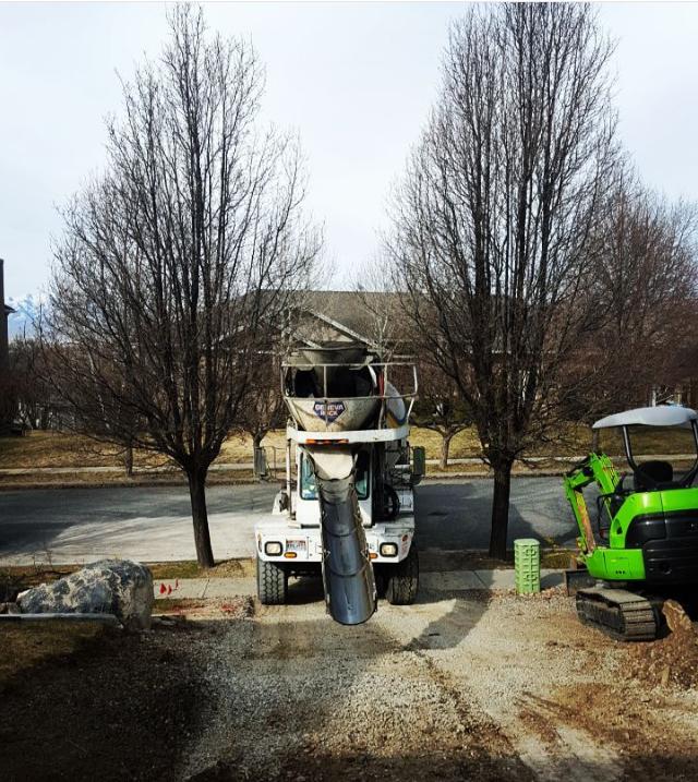 utah concrete delivery
